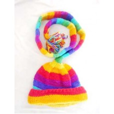 Rainbow Design Funky Hat
