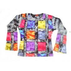 Rib Patch Garment Top
