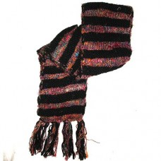 Woolen Scarf Silk Lining