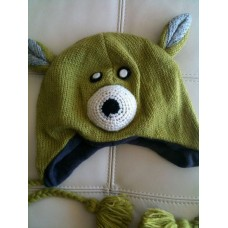Woolen Animal Design Hat-P