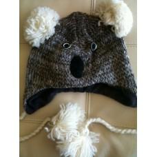 Woolen Animal Design Hat-Q