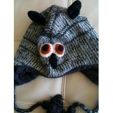 Woolen Animal Design hat-k