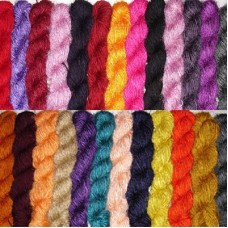 Best Quality Separate Color Recycled silk Yarn.