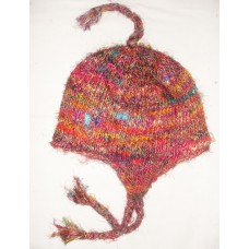 Ear Flap Recycled Silk Hat