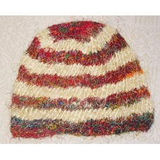 Recycled silk Stripes Hat
