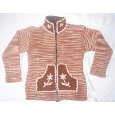 Tiedye Hooded Woolen Jackets