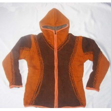 Woolen Hooded Jacket
