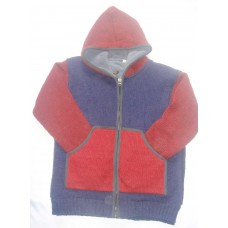 Winter Hooded Woolen Jacket