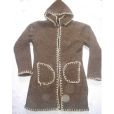 Woolen Long Coat Jackets