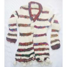 Silk stripes blouse