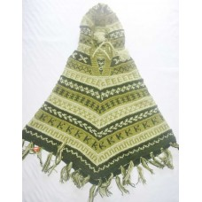 Woolen Hooded Ponchos