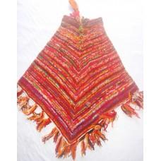Woolen Tie-dye Ponchos
