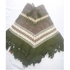 Woolen Hand Knitted Winter Ponchos