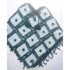 Woolen Patch Crochet Ponchos