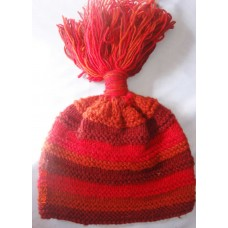 Frills Stripes Woolen Hat