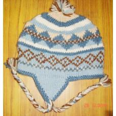 Woolen Ear Flap Winter Cap