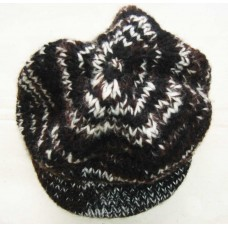 Woolen Knitted 3 color casket hat