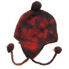 Woolen Tie-dye Ear Flap