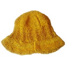 Hand Knitted Hemp Hat