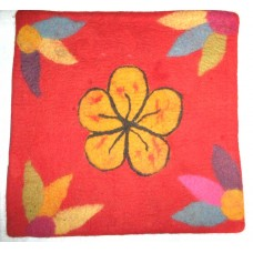 Felt Beth Flower Cushion Cover