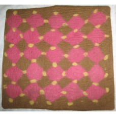 Felt Cushion Cover In Breaks Design