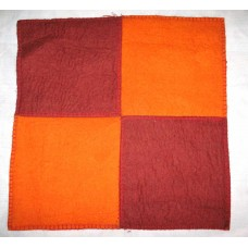 Felt 2 Color Cushion Cover