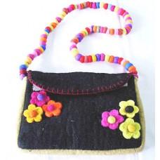 Felt Flowers Bag