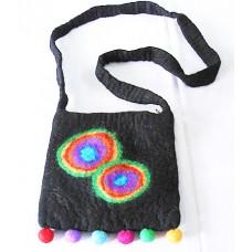 Spot Design Felt Bag