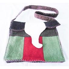 Elephent Folding Felt Bag