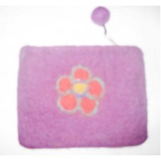 Felted Flower Walllet