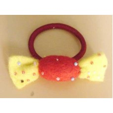 Felt crafts Chacalate Hair Band