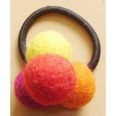 4 Felt Balls Hairband
