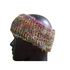 Hemp  silk mixed headband