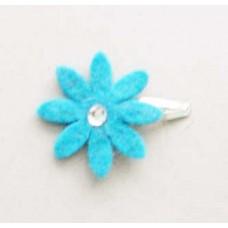 Handmade Felt Flower Clip