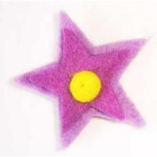 Star Double Flower hair Clip