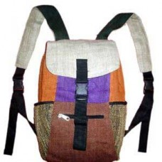 Hemp Backpack With Patch