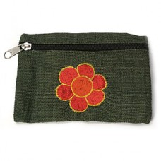 Flower Hemp Coin Purse