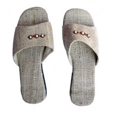Ladies Natural Hemp Slipper