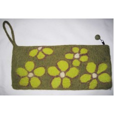 5 Flower Felt Needle Case