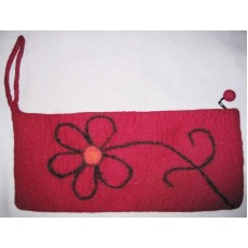Small Flower Leaf Needle Case