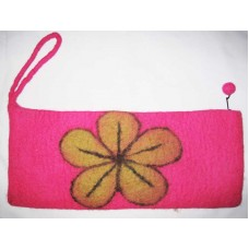 Beth flower Felt Needle Case