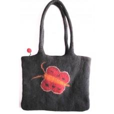 Felt Buttefly Bag