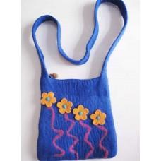 Felt Snake Flower Bag