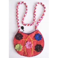 Felt Crochet Baby Bag