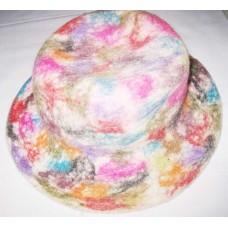 Felt Tiedye Hat