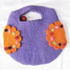Felt Hand Bag in Baby Pattern