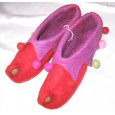 Felt Folding Funky Shoes