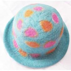 Felt Round Hat in Spot