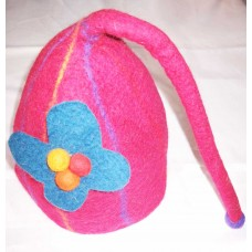 Felt hats With Attaced Butterfly Shape with String