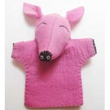 Felt Hand Pig Puppet